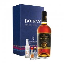 Botran 15 Coffret Old Fashioned avec 2 mini Angostura Bitter 40° 70 cl Guatemala
