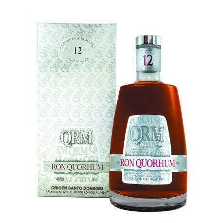 QuoRhum Rhum Vieux 12 solera étui 40° 70 cl République Dominicaine