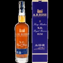 AH Riise Rhum Vieux XO Kong Haakon boisson spiritueuse 42° 70 cl Iles Vierges USA
