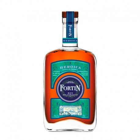 Fortin Rhum Vieux 5-8 ans Heroica coffret + 2 verres 40° 70 cl Paraguay