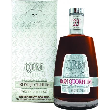 QuoRhum Rhum Vieux 23 ans solera 40° 70 cl République Dominicaine