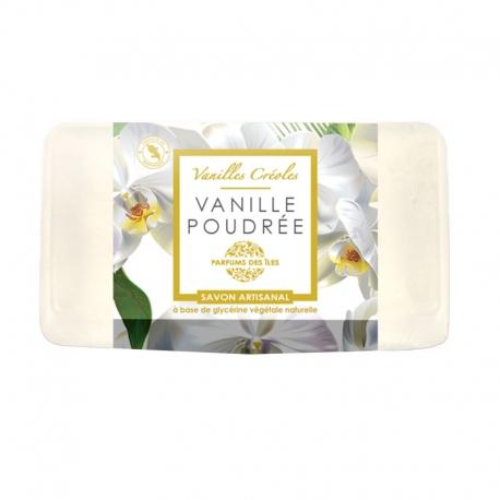 Parfums des Iles Savon Vanille Poudrée 100g