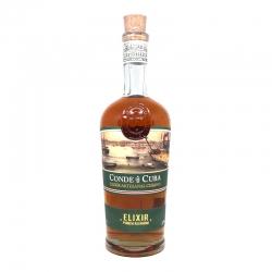Conde de Cuba Liqueur Elixir 32° 70 cl Cuba