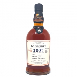 Foursquare Rhum Vieux 2007 59°  70 cl Barbade