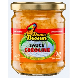 Dame Besson Sauce Créoline 210ml / 170g PM