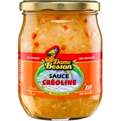 Dame Besson Sauce Créoline 570ml / 500g GM