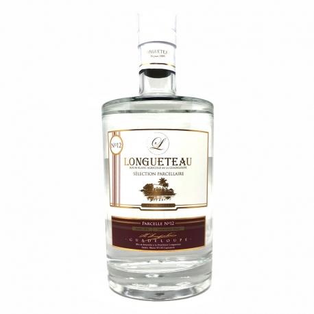Longueteau Rhum Blanc Canne Rouge parcelle N°12 2018 55° 70 cl Guadeloupe