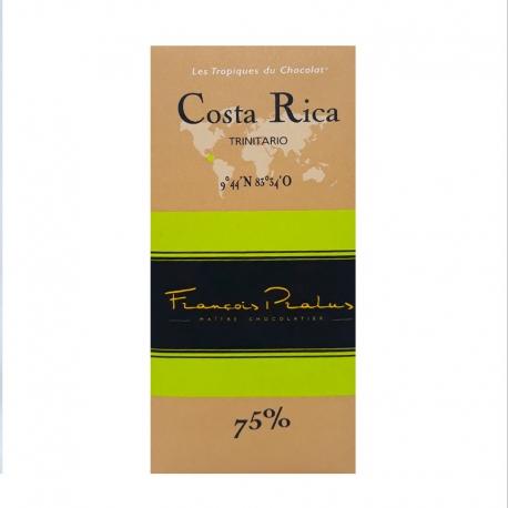 Pralus Chocolat Noir 75% Costa Rica tablette 100 g