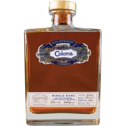Coloma Rhum Vieux 2006 Single Cask Flor coffret 40° 70 cl Colombie
