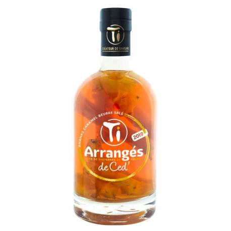 Ti Arrangés de Ced Ananas Caramel Beurre Salé 32° 70 cl