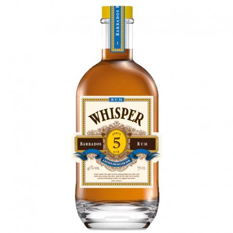 Whisper Rhum Vieux 5 ans 40° 70 cl Barbade