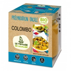 Le Voyage de Mamabé Préparation Facile Colombo bio 80g