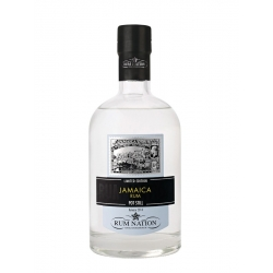 Rum nation Rhum Blanc white pot still 57° 70 cl Jamaïque