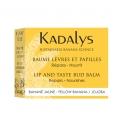 Kadalys Baume Lèvres et Papilles aux extraits de Banane Jaune - 7gr