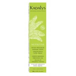 Kadalys Nutritive Precious Oil - Organic Green Banana