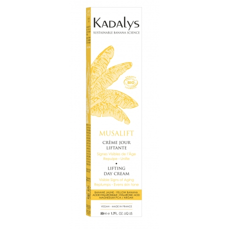 Kadalys Musalift Visible Wrinkles - Day Cream Organic Yellow Banana