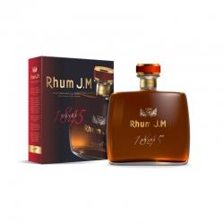 JM Rhum Vieux cuvée 1845 carafe étui 42° 70 cl Martinique