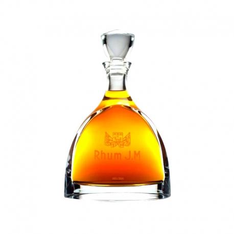 JM Rhum Vieux Hors d'âge Carafe et bouchon cristal carafe coffret 45° 70 cl Martinique