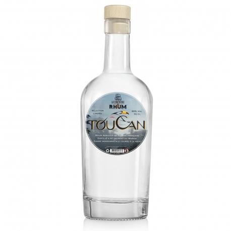 Toucan Rhum Blanc Cuvée Confrérie du Rhum 60° 70 cl Guyane