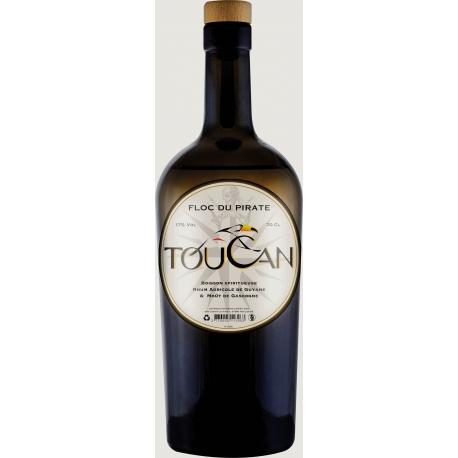 Toucan Floc du Pirate boisson spiritueuse à base de rhum17° Guyane