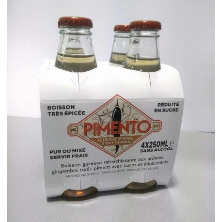 Pimento Ginger Beer boisson gazeuse 4x25 cl