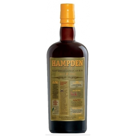 Hampden Rhum Vieux 8 ans 46° Jamaïque