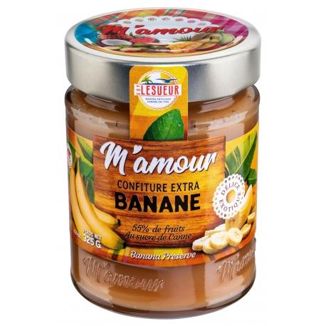M amour confiture banane 325 g