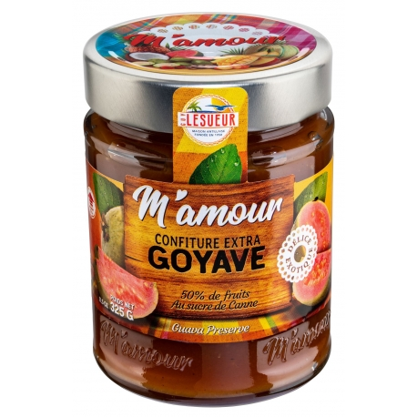 M'Amour confiture Goyave 325 g
