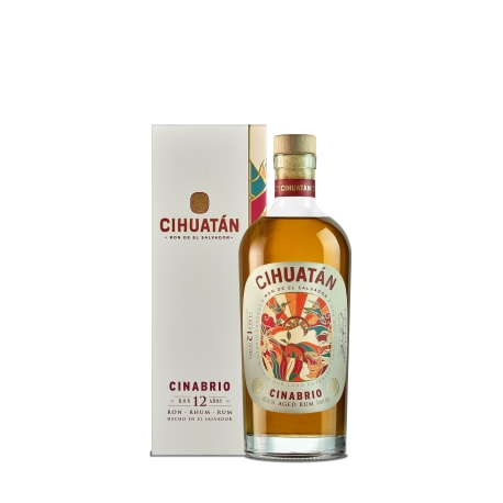 Cihuatan Rhum Vieux 12 Cinabrio 40° 70 cl Salvador