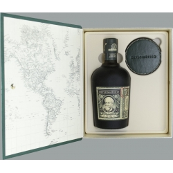 Diplomatico Rhum Vieux La Légende de Don Juancho coffret + 4 sous-verres 40° Venezuela