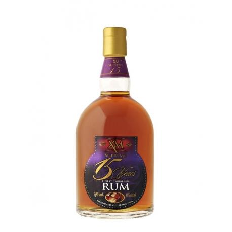 XM Rhum Vieux 15 ans 40° 70 cl Guyana