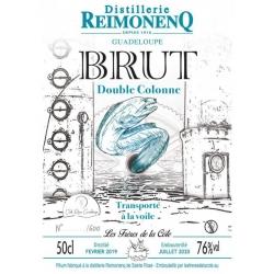 Reimonenq Rhum Blanc Brut de Colonne Frères de la Côte 76° Guadeloupe