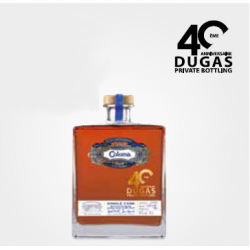 Coloma Rhum Vieux 2007 Single Cask Private Bottling 40 ans Dugas étui 50,3° Colombie
