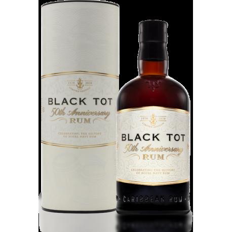 Black Tot Rhum Vieux 50th Anniversary étui 54,5°