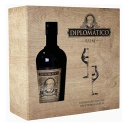 Diplomatico Rhum Vieux Seleccion de Familia coffret + 2 verres 43° 70 cl Venezuela