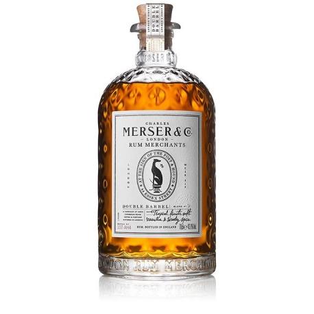 Merser & Co Rhum Vieux Double Barrel 43,10° Royaume-Uni