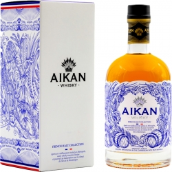 Aikan Whisky Malt Collection vieilli en fut de rhum étui 43° Martinique