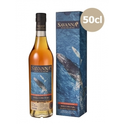 Savanna rhum vx 6 ans 2012 Calvados Finish Fût 984 étui 57,6° La Réunion