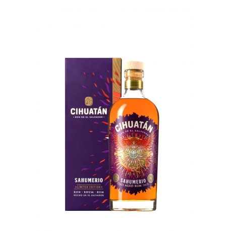 Cihuatan Rhum Vieux Sahumerio étui 45,2° 70 cl Salvador