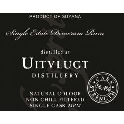 L'Esprit Rhum Vieux Demerara Uitvlugt 1999 - 2002 56,4° Guyana