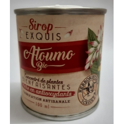 Herboristerie Créole Sirop Atoumo Exquis Bio 100ml