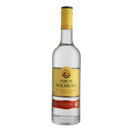 Bologne Rhum Blanc 55° 70 cl Guadeloupe