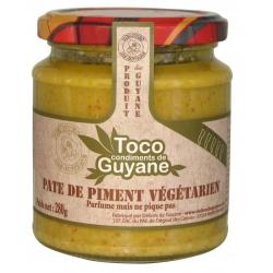 Toco Pâte de Piment Végétarien 280 g Guyane
