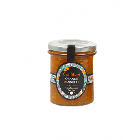 Fines Saveurs Des Iles Confiture Orange Cannelle 250 g