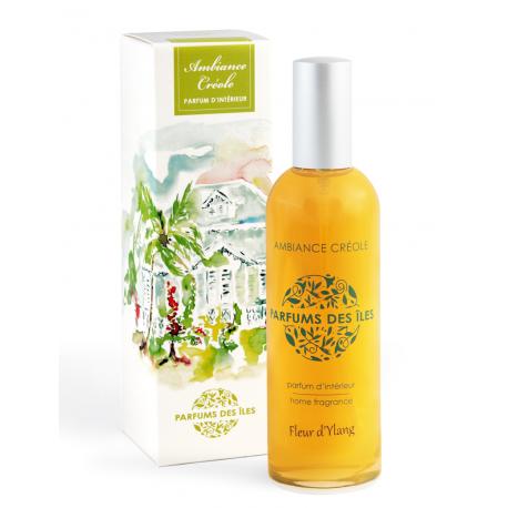 Parfums des Iles Parfum d'Intérieur Ambiance Créole Fleur d'Ylang spray 100ml
