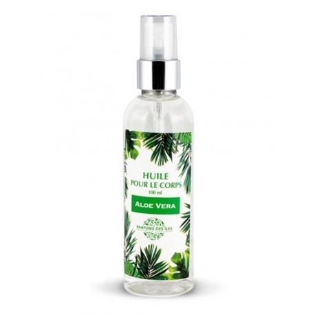 Parfums des Iles Soin Corps Huile Aloe Vera 100ml
