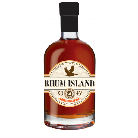 Rhum Island Rhum Vieux XO 45° 70 cl Saint Martin