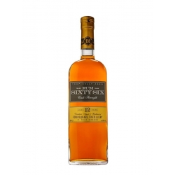 Sixty Six Rum Rhum Vieux  12 ans Cask Strenght 59° Barbade