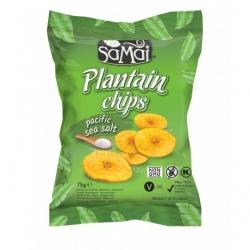 Samai chips de banane plantain salées 75 g