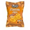 Samai Chips de Banane Plantain Naturellement Sucrées 75 g